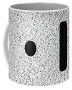 Electrostatic Field Lines No Charge Coffee Mug