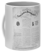 Emancipation Proclamation Coffee Mug by Photo Researchers