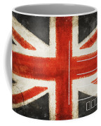 England Flag Postcard Coffee Mug