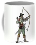 English Archer, 1634 Coffee Mug