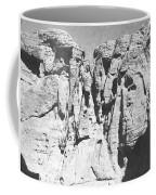 Eroded Sandstone Cliffs Coffee Mug