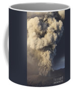 Eruption Of Ash Cloud From Mount Bromo Coffee Mug