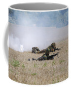 Evacuation Of A Wounded Soldier By An Coffee Mug