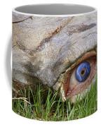 Eye Of A Dinosaur Lightning Coffee Mug