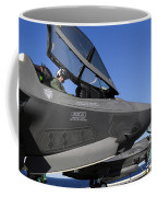 F-35b Lightning II Variants Are Secured Coffee Mug