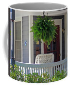 Fern On Front Porch Coffee Mug