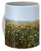 Fields Of Safflowers Coffee Mug