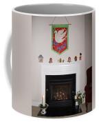 Fireplace At Christmas Coffee Mug