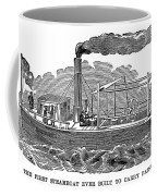 Fitchs Steamboat, C1790 Coffee Mug