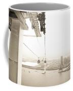 Flight Over The Thames Coffee Mug