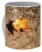 Floating Autumn Leaf Coffee Mug