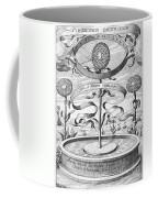 Flower Clock, 1643 Coffee Mug