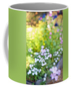 Flower Garden In Sunshine Coffee Mug