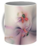 Flower In The Wind Coffee Mug
