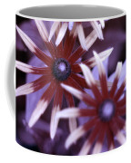 Flower Rudbeckia Fulgida In Uv Light Coffee Mug by Ted Kinsman