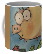 Flying Pig First Flight Coffee Mug