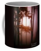 Foggy Misty Trees Coffee Mug