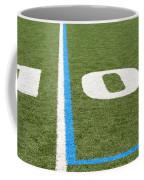 Football Field Ten Coffee Mug