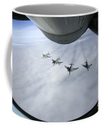Formation Of Luftwaffe F-4f Phantom IIs Coffee Mug