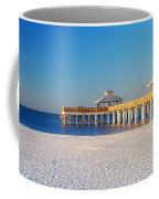 Fort Myers Beach Pier Coffee Mug