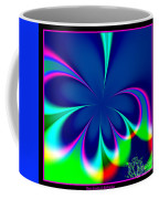 Fractal 24 Floral Fleur De Lis Coffee Mug
