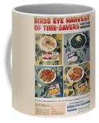 Frozen Food Ad, 1957 Coffee Mug