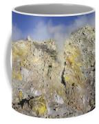 Fumaroles With Sulphur Deposits. Flank Coffee Mug
