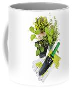 Gardening Tools And Plants Coffee Mug