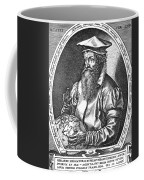 Gerardus Mercator, Flemish Cartographer Coffee Mug