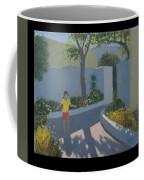 Girl Skipping Coffee Mug