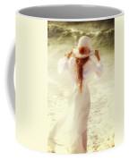 Girl With Sun Hat Coffee Mug