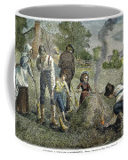 Grasshopper Plague, 1875 Coffee Mug
