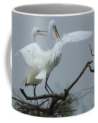 Great Egret Pair Coffee Mug