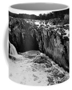 Great Falls Virginia Bw Coffee Mug