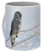 Great Grey Owl, Northern British Coffee Mug
