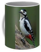 Great Spotted Woodpecker Coffee Mug