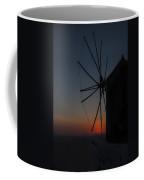 Greek Windmill Coffee Mug
