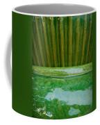 Green Pottery Coffee Mug