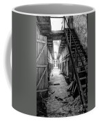 Grim Cell Block In Philadelphia Eastern State Penitentiary Coffee Mug