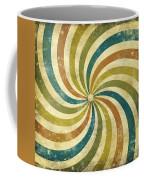 grunge Rays background Coffee Mug