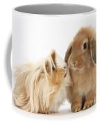 Guinea Pig And Rabbit Coffee Mug