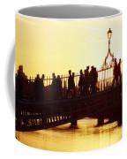 Hapenny Bridge, Dublin, Co Dublin Coffee Mug