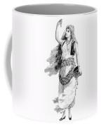 Harem Woman. 19th Century Coffee Mug
