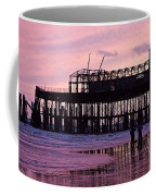 Hastings Pier After The Fire Coffee Mug by Dawn OConnor