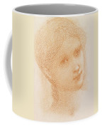 Head Study Of A Girl Coffee Mug