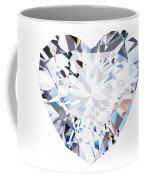 Heart Diamond  Coffee Mug