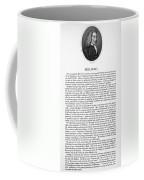 Henry Fielding (1707-1754) Coffee Mug
