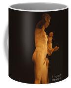 Hermes And The Infant Coffee Mug by Bob Christopher