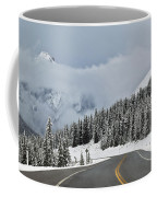 Highway 40 In Winter, Highwood Pass Coffee Mug