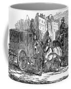 Horse Carriage, 1853 Coffee Mug